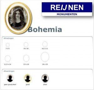 Bohemia - Reijnen Grafmonumenten